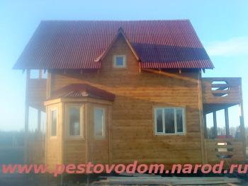 Фото эркера в деревянном доме